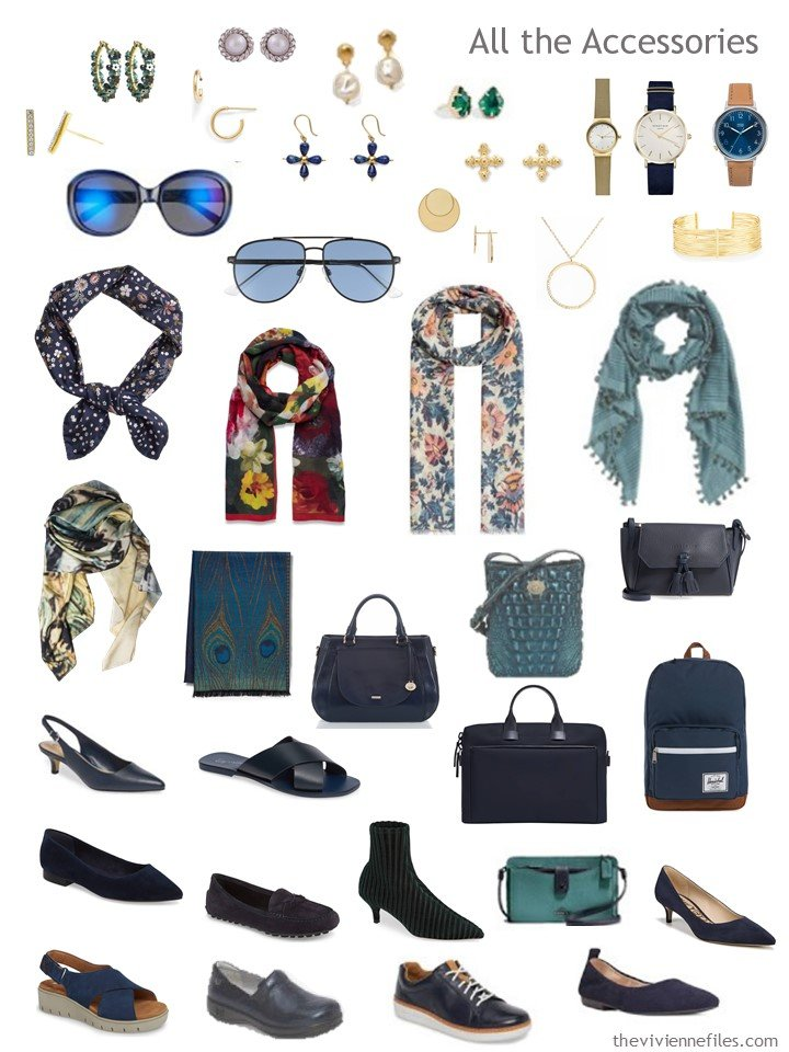 9. Accessories for a capsule wardrobe based on Shallow Deep by Kandinsky