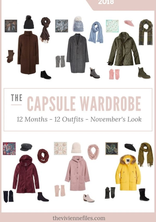 BUILD A CAPSULE WARDROBE IN 12 MONTHS, 12 OUTFITS – NOVEMBER 2018