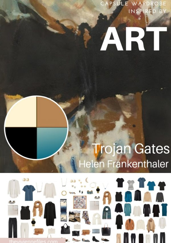 CREATE A TRAVEL CAPSULE WARDROBE INSPIRED BY TROJAN GATES BY HELEN FRANKENTHALER