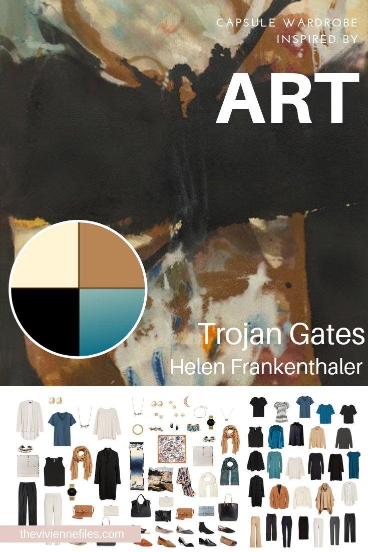 CREATE A TRAVEL CAPSULE WARDROBE INSPIRED BY TROJAN GATES BY HELEN FRANKENTHALER