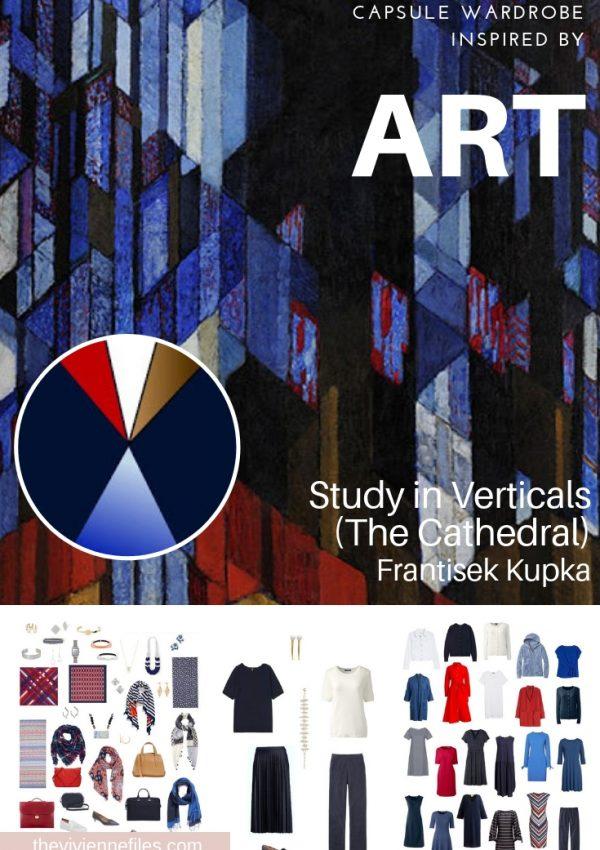 EVALUATING A CAPSULE WARDROBE INSPIRED BY STUDY IN VERTICALS BY FRANTISEK KUPKA
