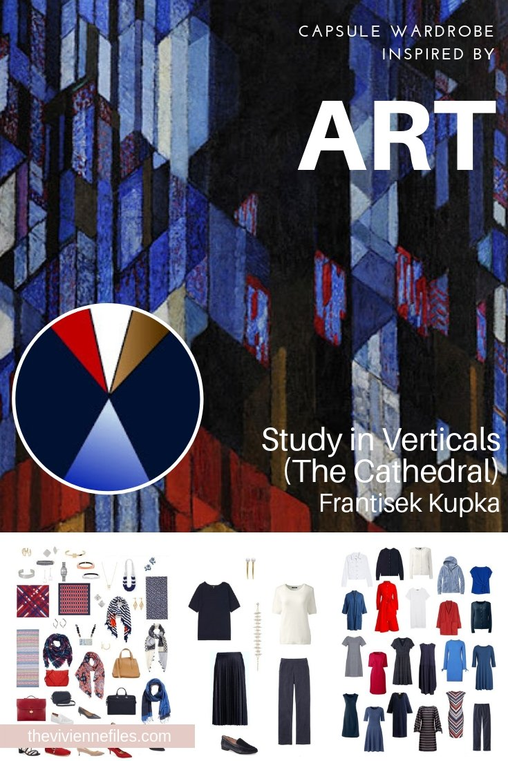 EVALUATING A CAPSULE WARDROBE INSPIRED BY STUDY IN VERTICALS BY FRANTISEK KUPKA
