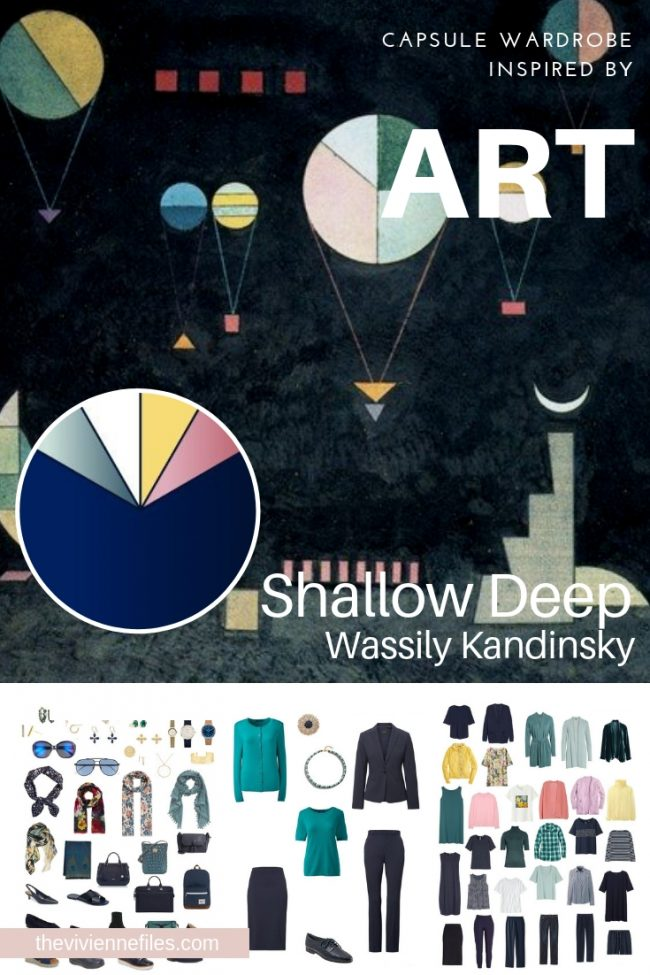 How to evaluate a capsule wardrobe based on a shallow deep by kandinsky