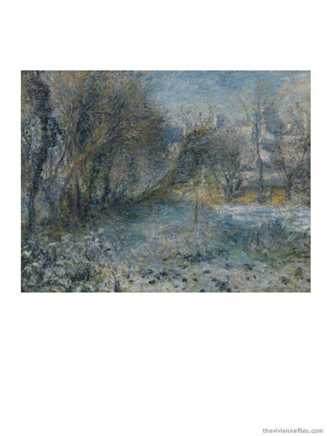 1. Paysage de Neige by Renoir