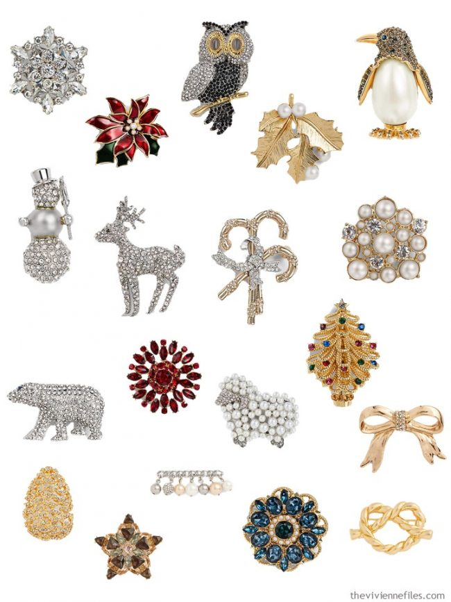 10. brooches