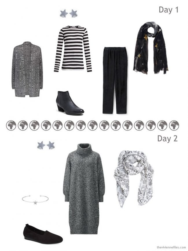 11. what I will wear the first 2 days in Paris