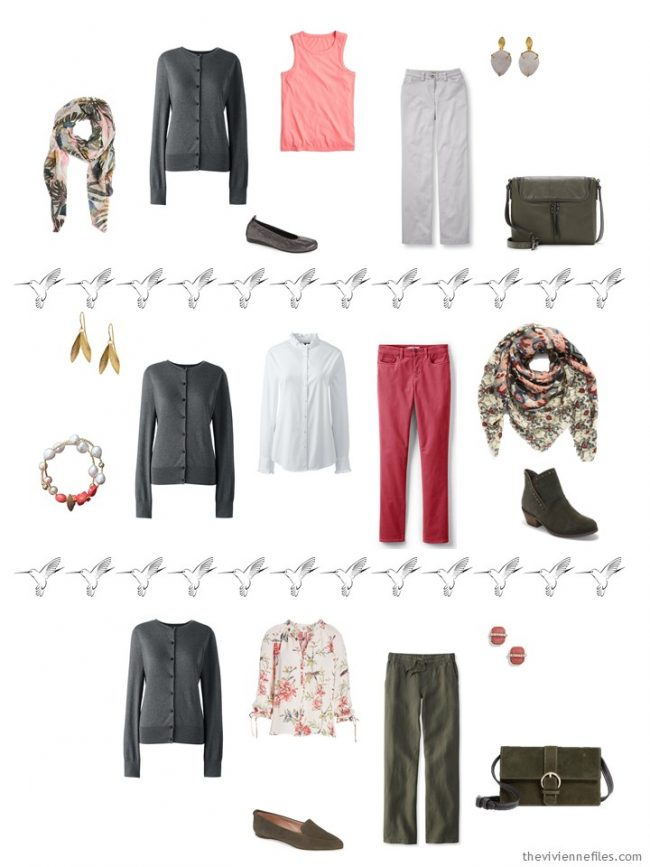 12. 3 ways to wear a grey cardigan in a capsule wardrobe