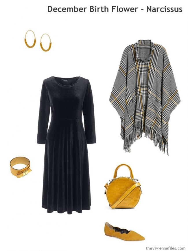 3. adding mustard accents to black