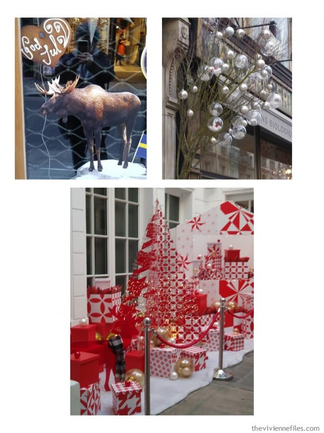 4. holiday decorations in Paris