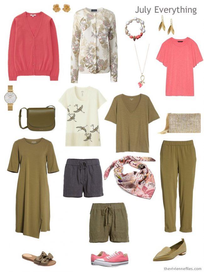 5. July travel capsule wardrobe