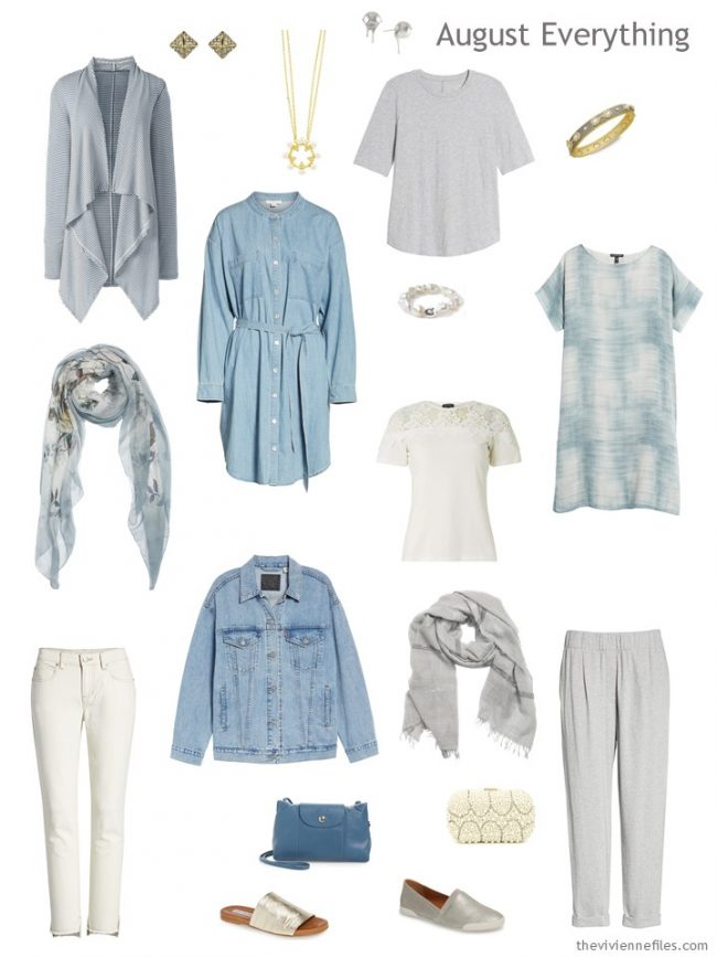 5. Summer travel capsule wardrobe