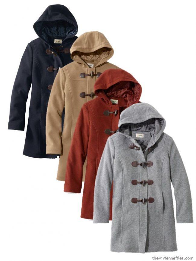 6. duffel coats