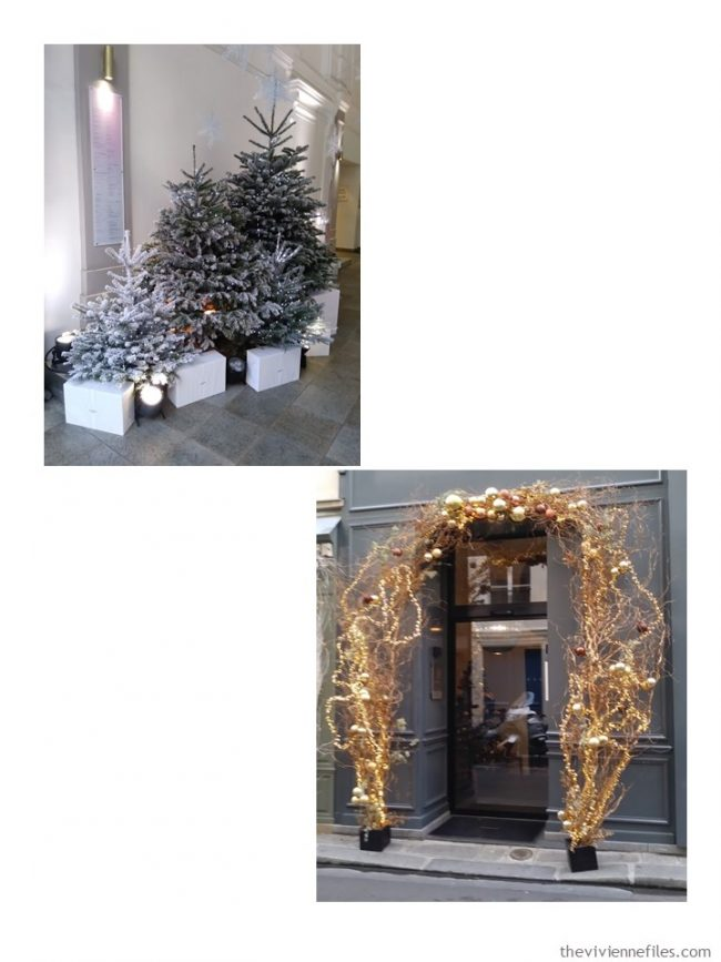 7. Paris holiday decorations