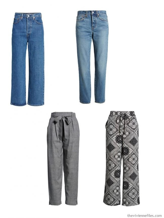 7. high-waisted pants