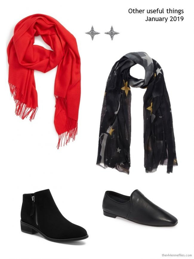 8. accessories for a winter capsule wardrobe