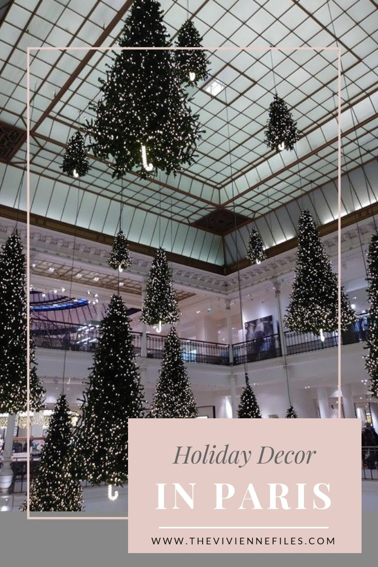 LET'S CELEBRATE THE DAY WITH A LOOK AT PARIS HOLIDAY DECOR!