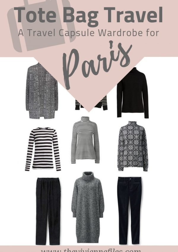 PACKING FOR PARIS - A TRAVEL CAPSULE WARDROBE