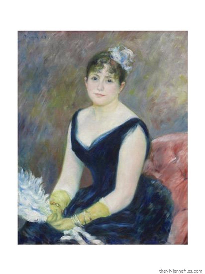 1. Madame Leon Clapisson by Renoir