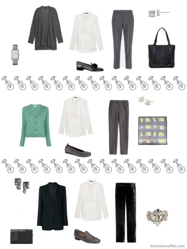 13. 3 ways to wear a white blouse in a capsule wardrobe