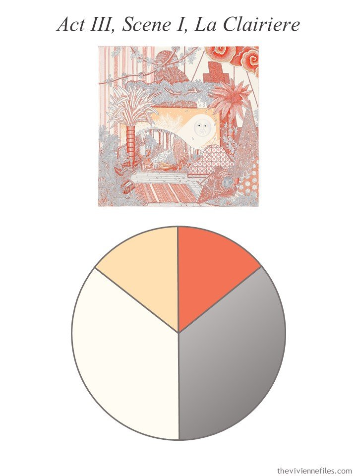 7. Hermes scarf with color palette