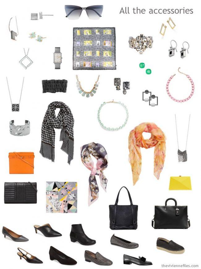 8. accessories for a capsule wardrobe