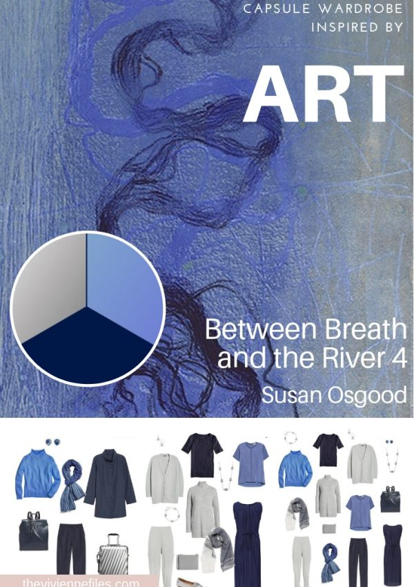 A TRAVEL CAPSULE WARDROBE INSPIRED BY BETWEEN BREATH AND THE RIVER 4 BY SUSAN OSGOOD
