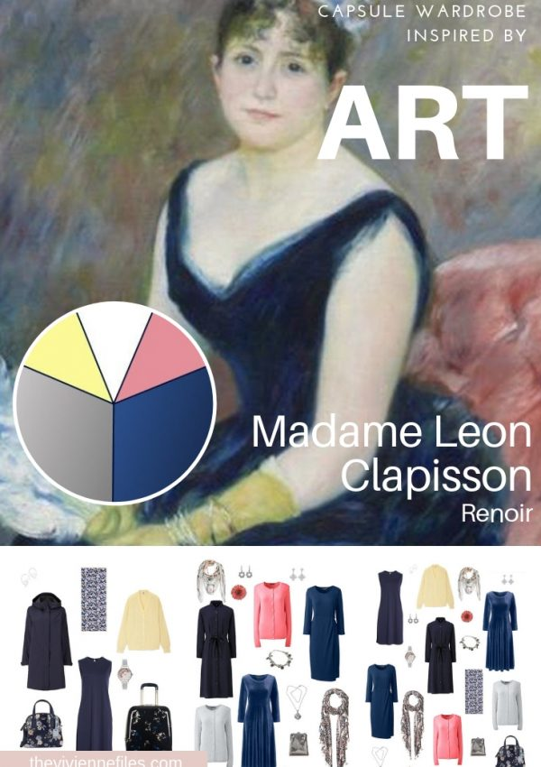A WINTER TRAVEL CAPSULE WARDROBE INSPIRED BY MADAME LEON CLAPISSON BY RENOIR