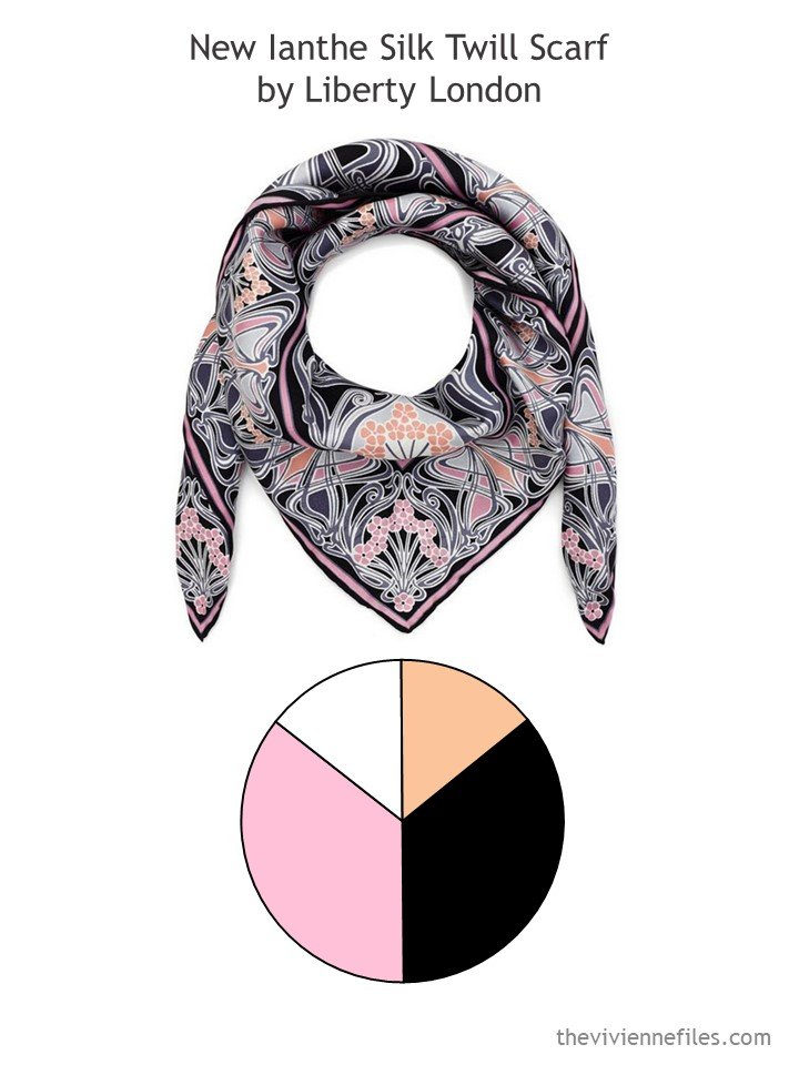 3. New Ianthe scarf with color palette