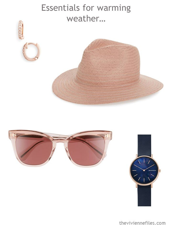 5. Summer essentials for a travel capsule wardrobe