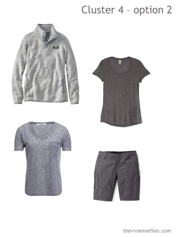 8. adding more hiking gear to a travel capsule wardrobe