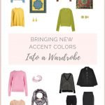 BRINGING NEW ACCENT COLORS INTO A CAPSULE TRAVEL WARDROBE
