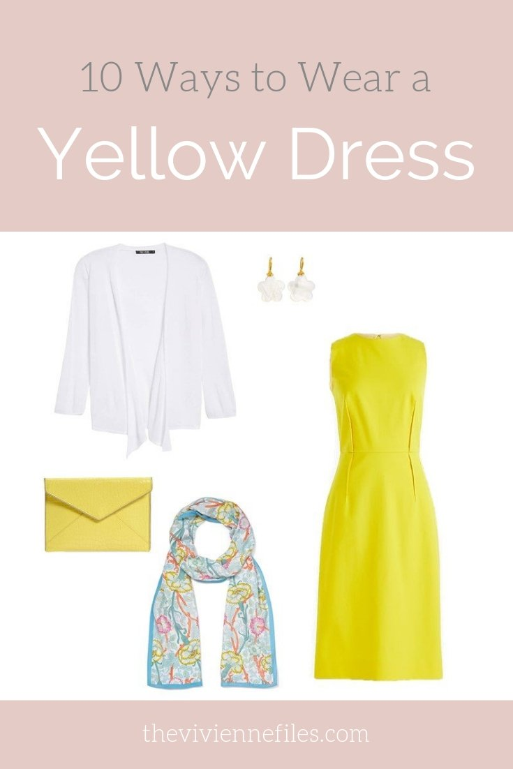 10 WAYS TO WEAR A YELLOW DRESS