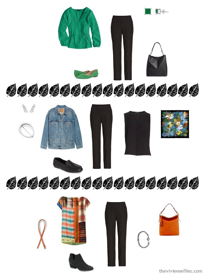 10. 3 ways to wear black pants from a capsule wardrobe