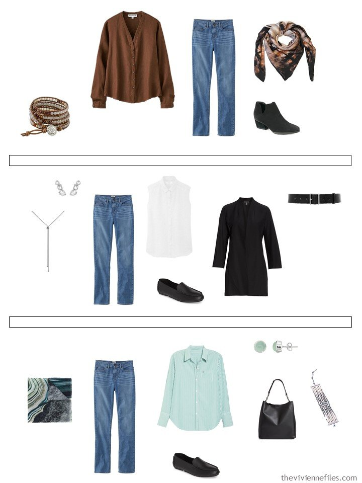 17. 3 ways to wear jeans from a capsule wardrobe