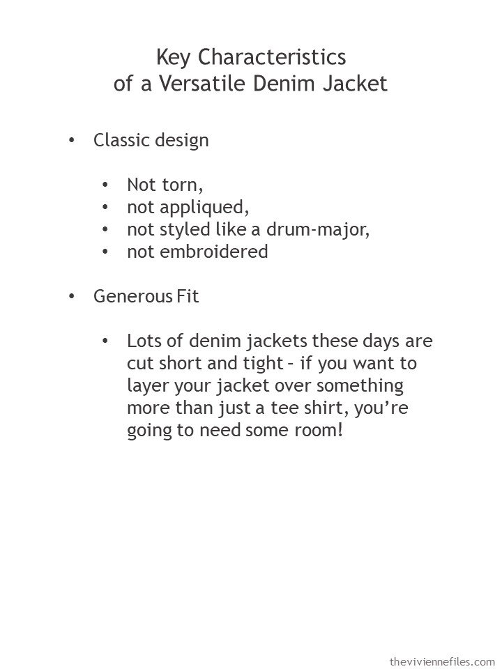 2. guidelines for buying a versatile denim jacket