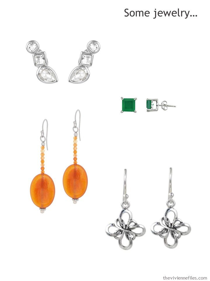 3. adding earrings to a 4 by 4 Wardrobe