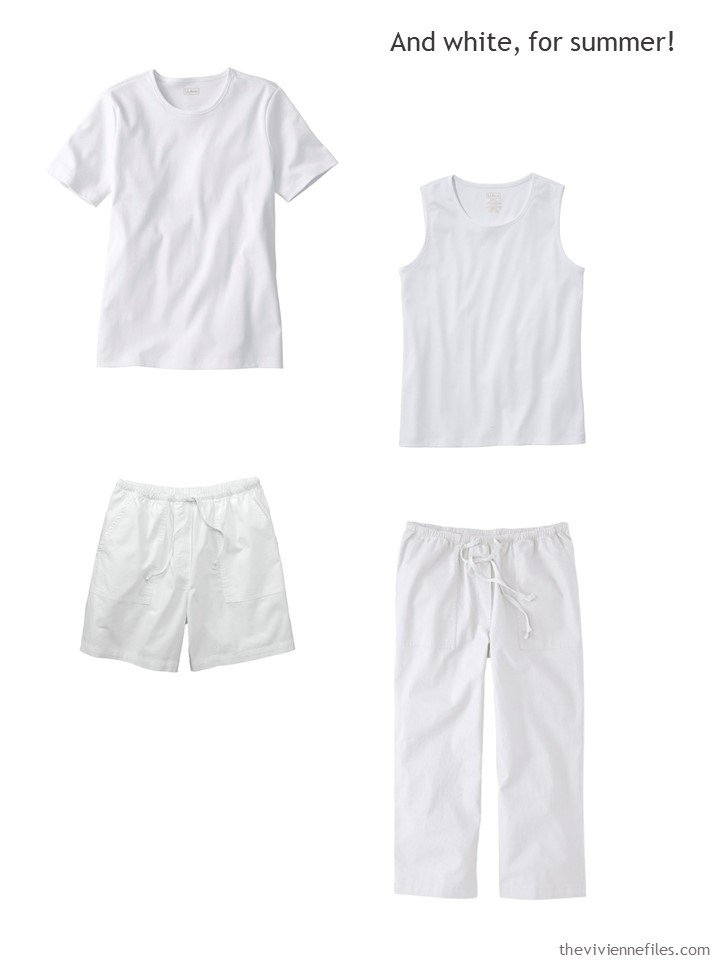 4. 4 white garments