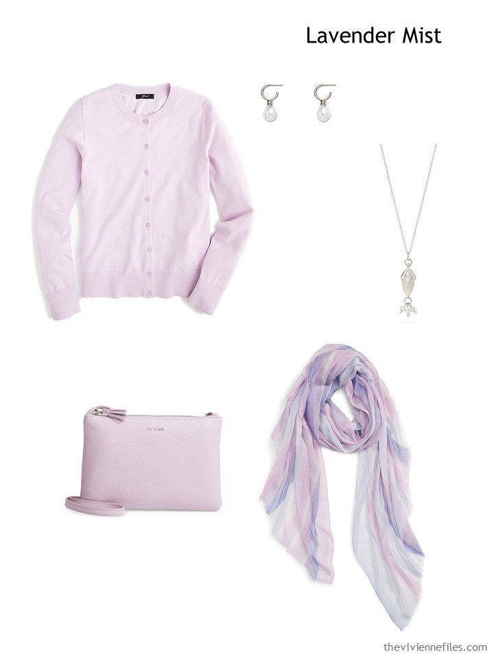 5. Lavender Mist French 5-Piece Wardrobe