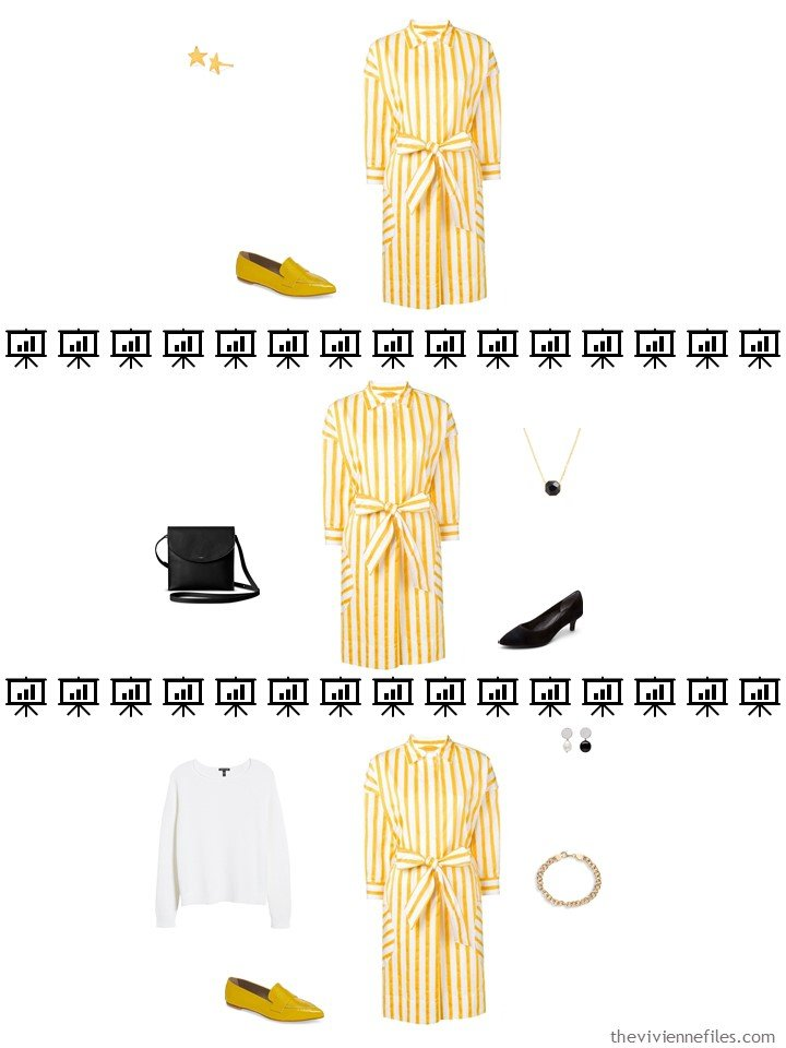 7. 3 ways to wear a dress from a travel capsule wardrobe