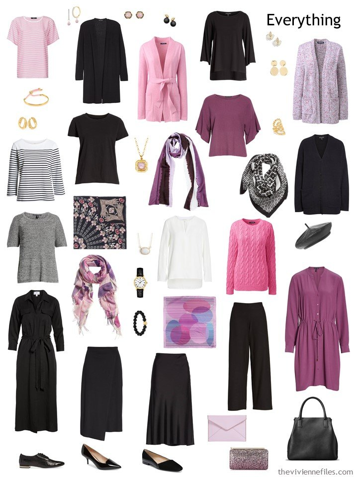 8. 2 Season Travel capsule wardrobe