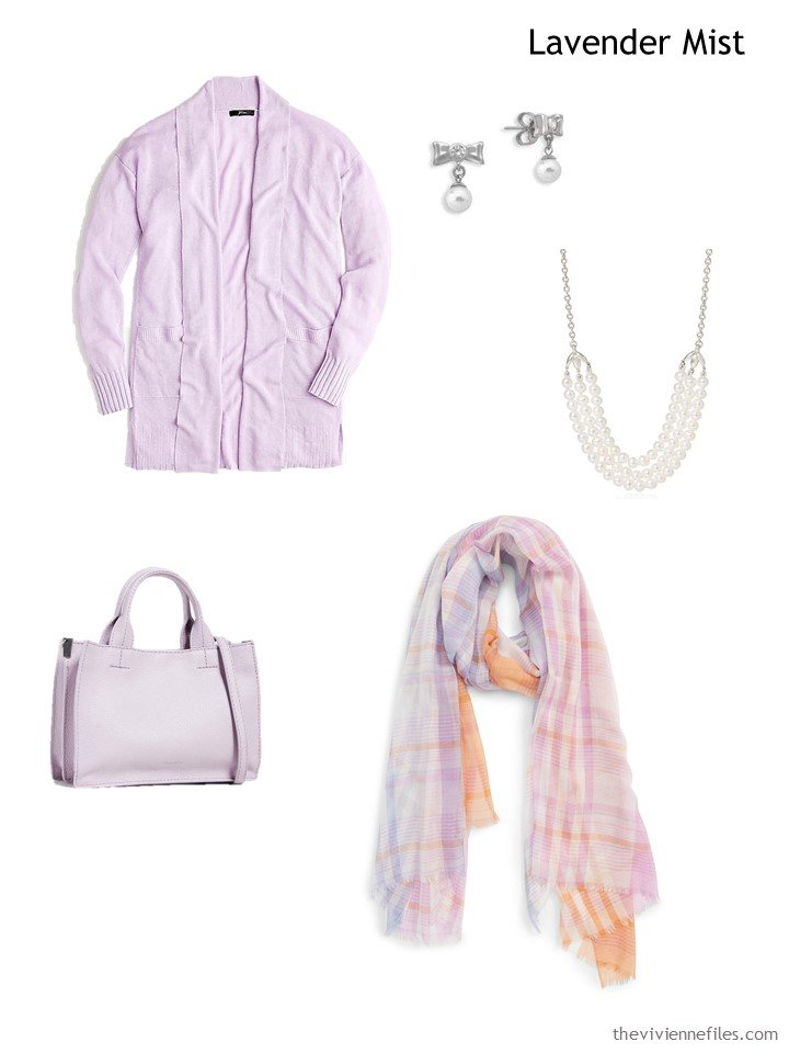 9. Lavender Mist French 5-Piece Wardrobe
