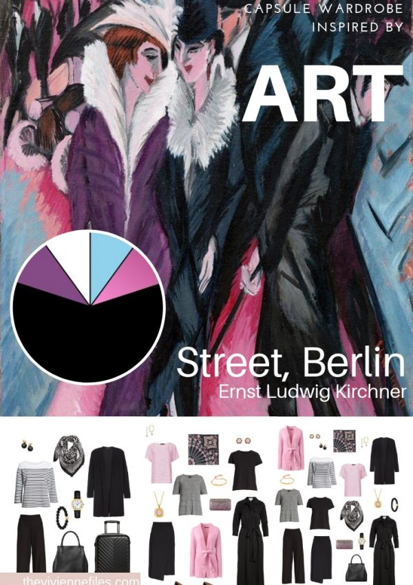 CREATE A TRAVEL CAPSULE WARDROBE – START WITH ART: STREET, BERLIN BY ERNST LUDWIG KIRCHNER