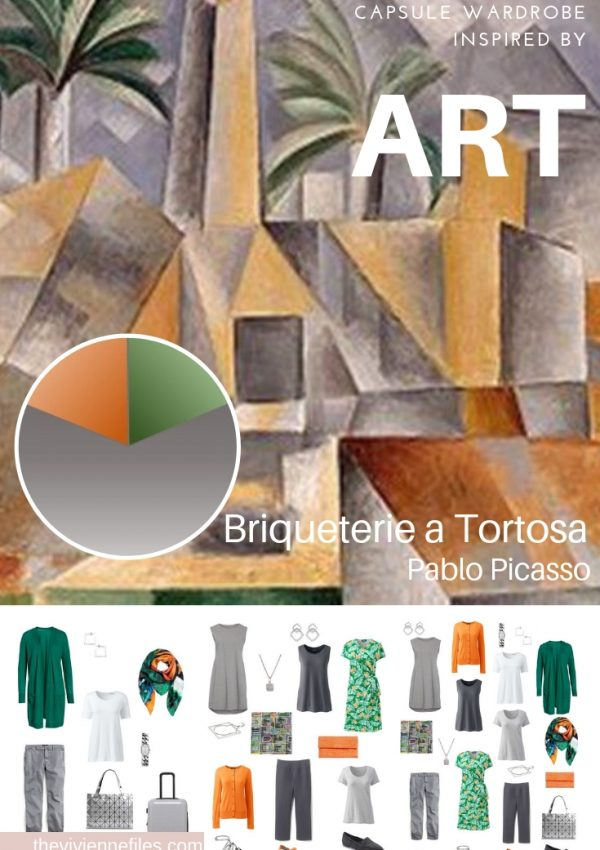 CREATA A TRAVEL CAPSULE WARDROBE - START WITH ART – BRIQUETERIE A TORTOSA BY PICASSO