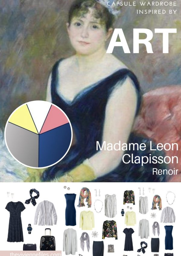 CREATE A TRAVEL CAPSULE WARDROBE INSPIRED BY ART – MADAME LEON CLAPISSON BY RENOIR