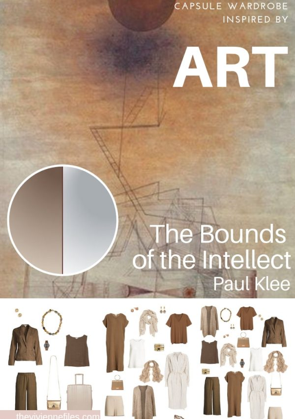 CREATE A TRAVEL CAPSULE WARDROBE INSPIRED BY THE BOUNDS OF THE INTELLECT BY PAUL KLEE