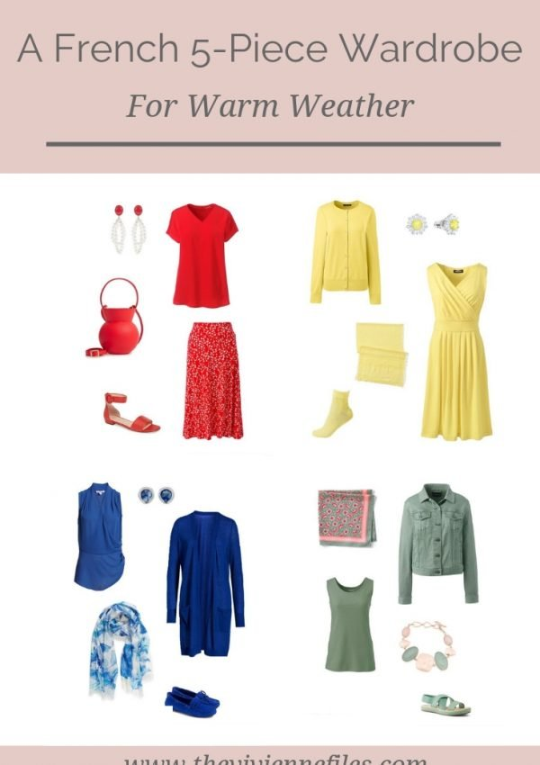 READY FOR A WARM-WEATHER WARDROBE UPDATE_ HOW ABOUT A FRENCH 5-PIECE WARDROBE