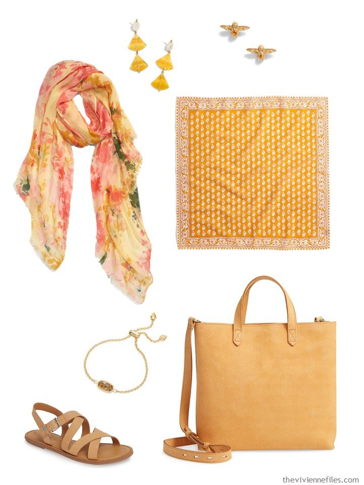 1. Orange gold accessory family