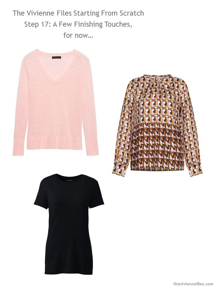 12. adding 3 tops to a capsule wardrobe