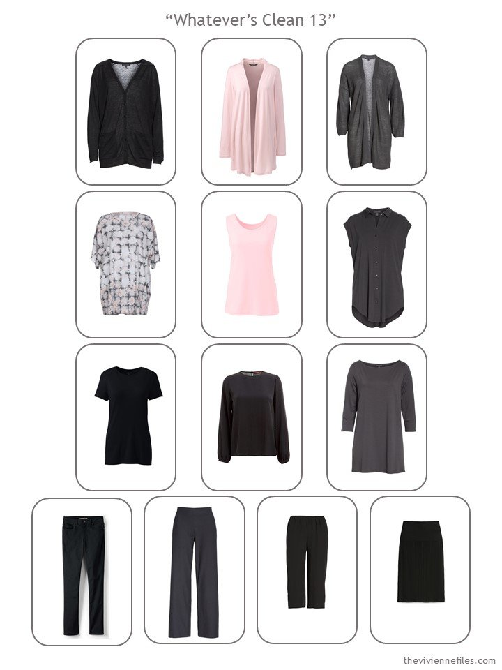 14. evaluating a wardrobe for the possibility of Whatever's Clean