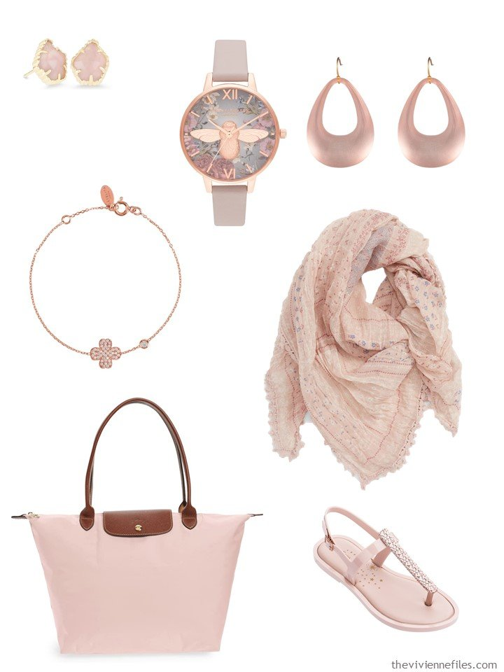 4. blush pink accessory family